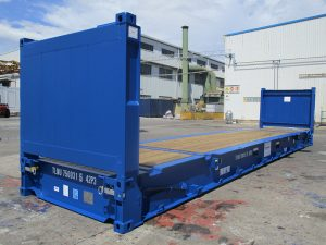 Container 40 feet Flat Rack