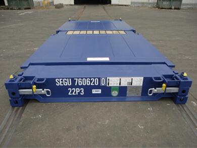 cho thuê Container 20 feet Flat Rack giá rẻ