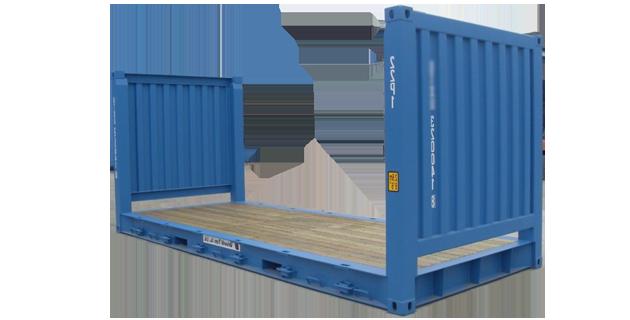 cho thuê Container 20 feet Flat Rack