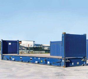 cho thuê Container 40 feet Flat Rack giá rẻ