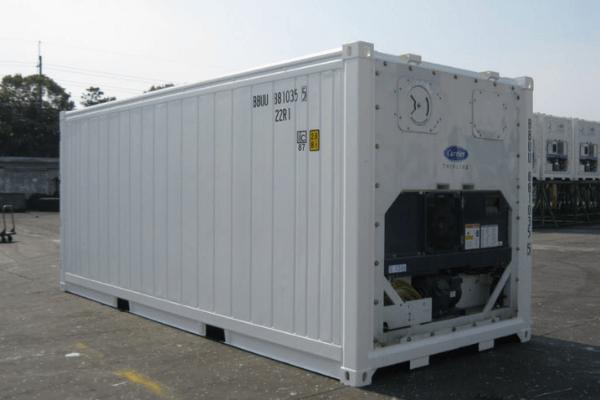 cho thuê container lạnh 20 feet
