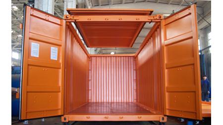 cho thuê container open top 20 feet