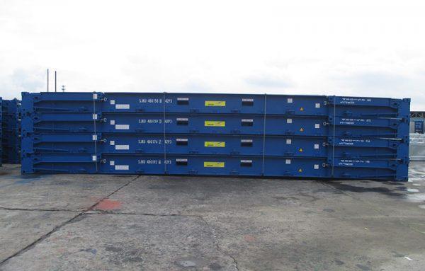 dịch vụ cho thuê Container 40 feet Flat Rack