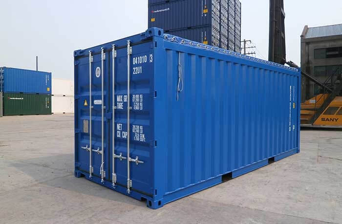 dịch vụ cho thuê container open top 20 feet