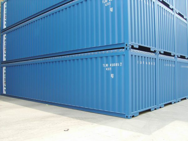 dịch vụ cho thuê container open top 40 feet