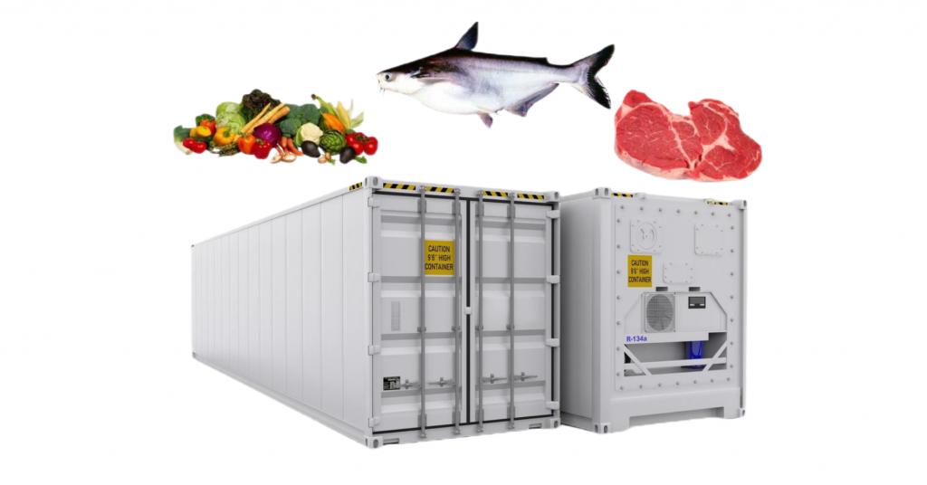 gói dịch vụ vận chuyển container lạnh tuyến bắc nam giá rẻ