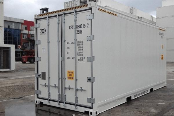 thuê container lạnh 20 feet