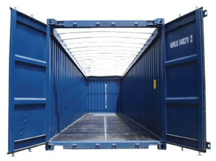 thuê container open top 40 feet hà nội
